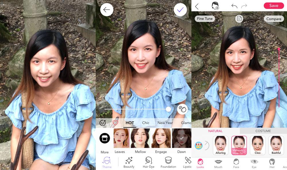 Makeup app showdown: Meitu versus YouCam