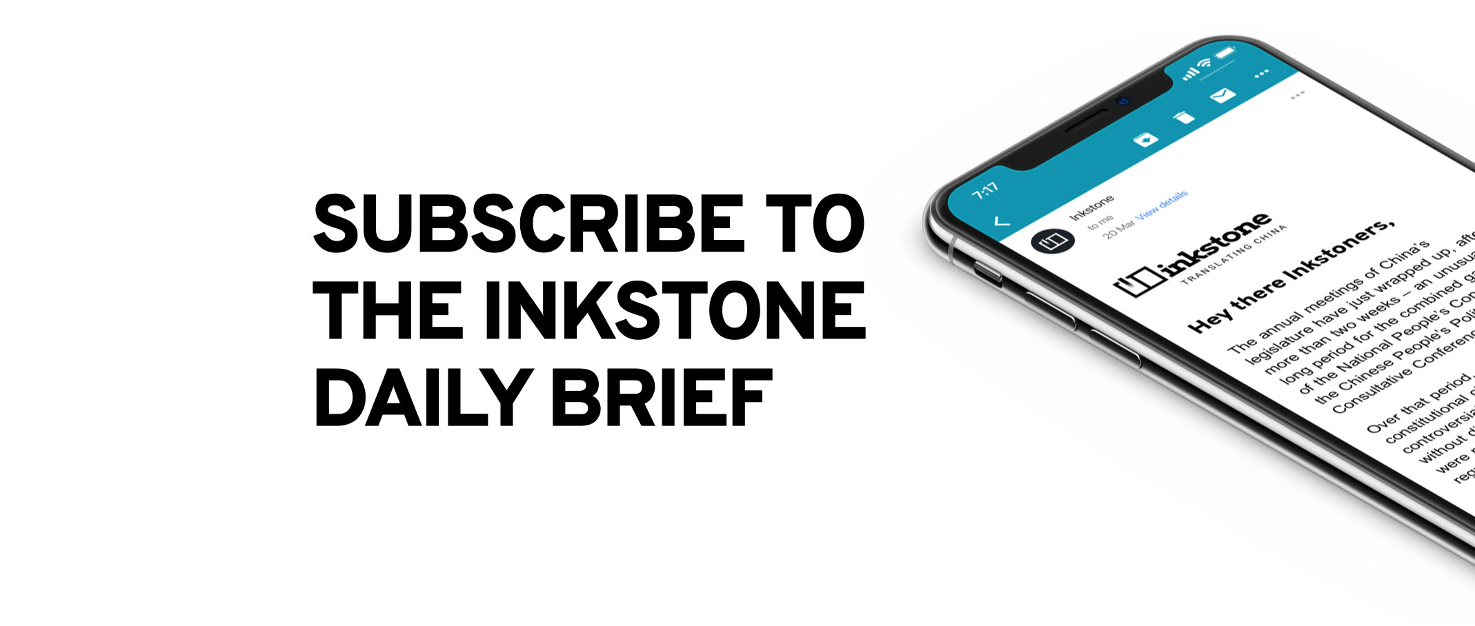 Subscribe to the Inkstone Daily Brief