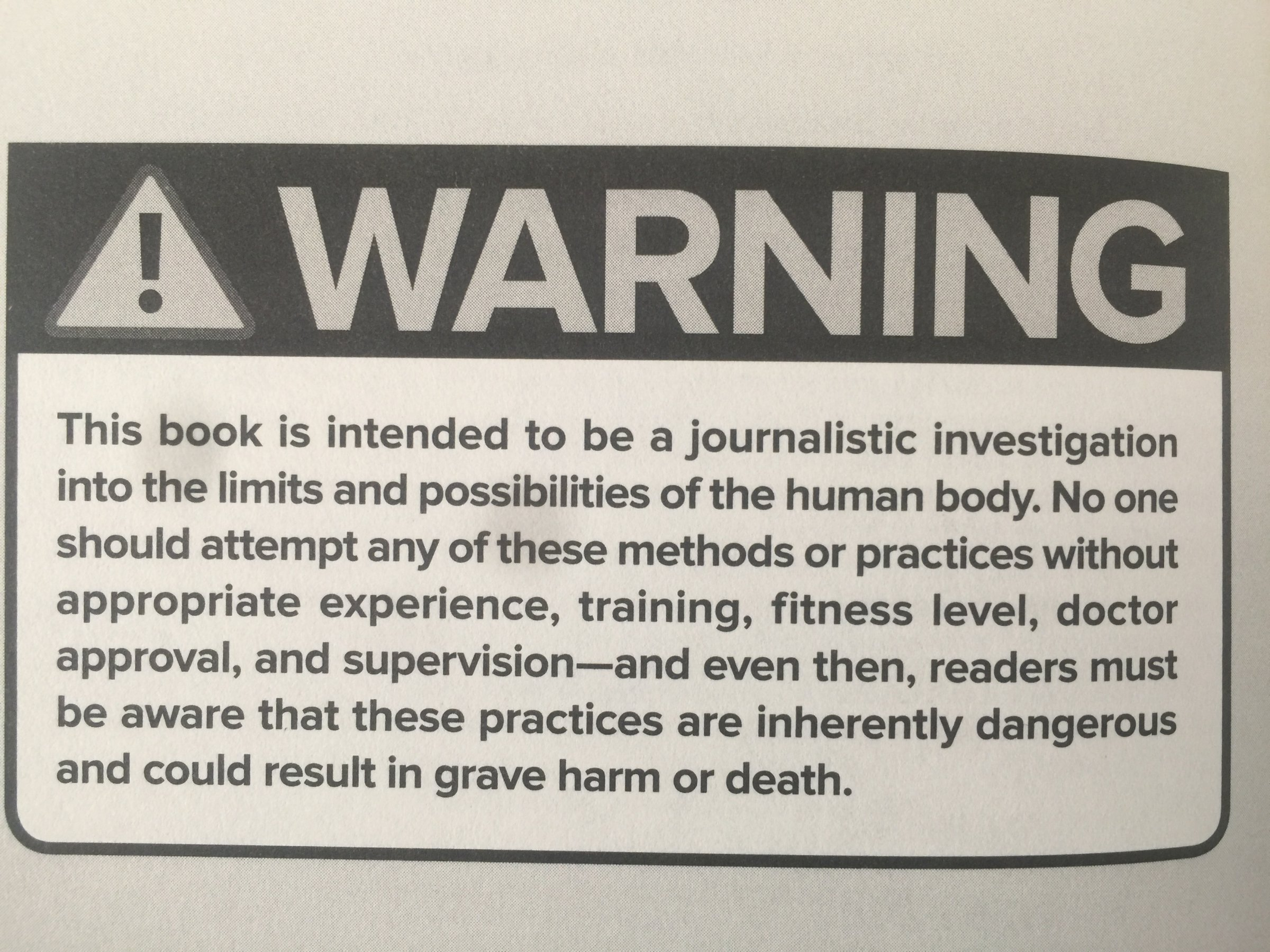 The Disclaimer In Carney S Book Photo Kevin Loria Business Insider