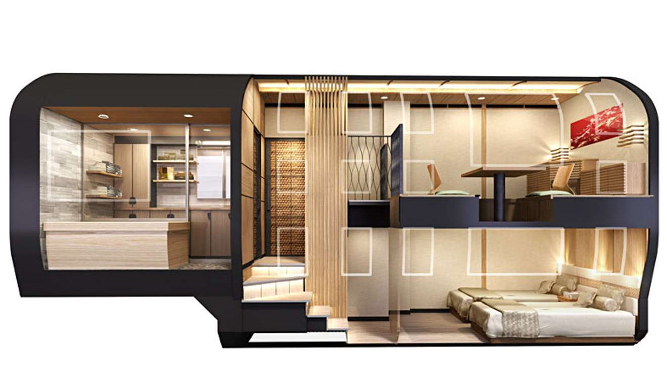 Japan s new luxury sleeper train is the ultimate travel for Pataka bano food mat