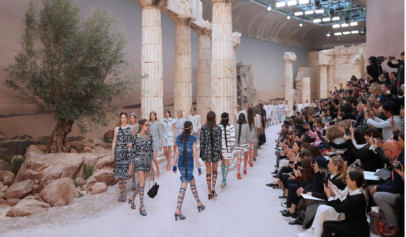 Image result for chanel cruise 2017/2018 greece
