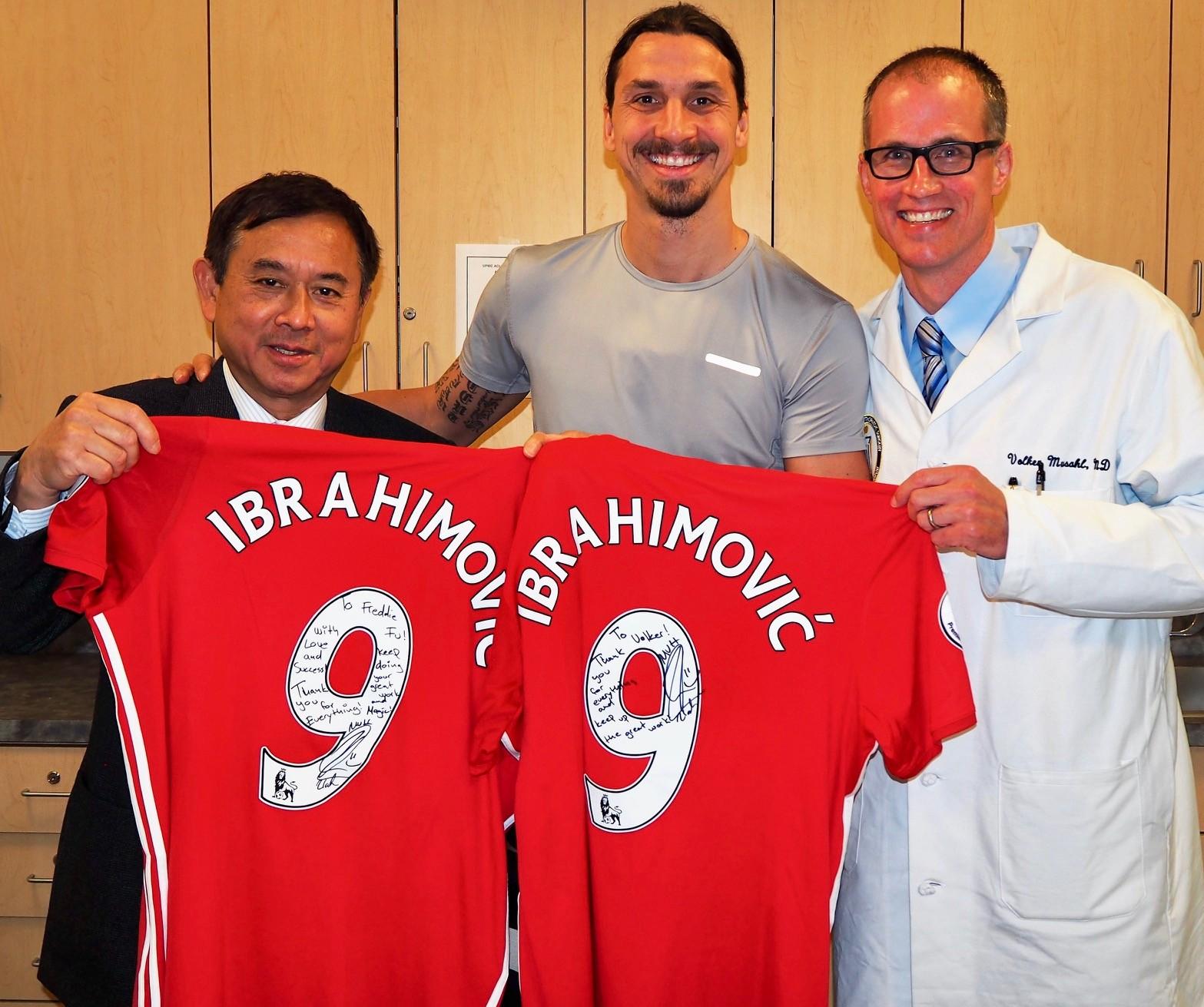 Hong Kong surgeon who saved Zlatan Ibrahimovic's career back