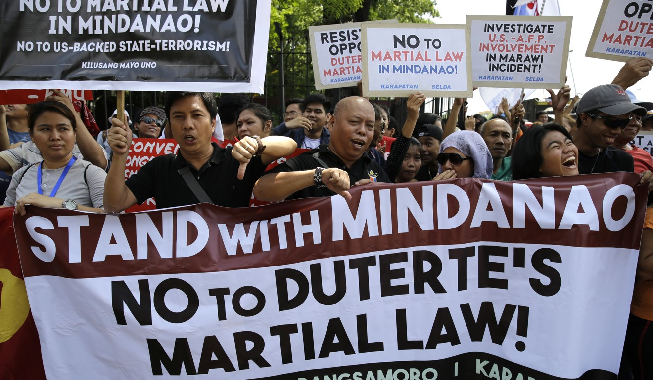 Image result for signs, philippines, no martial law, photos