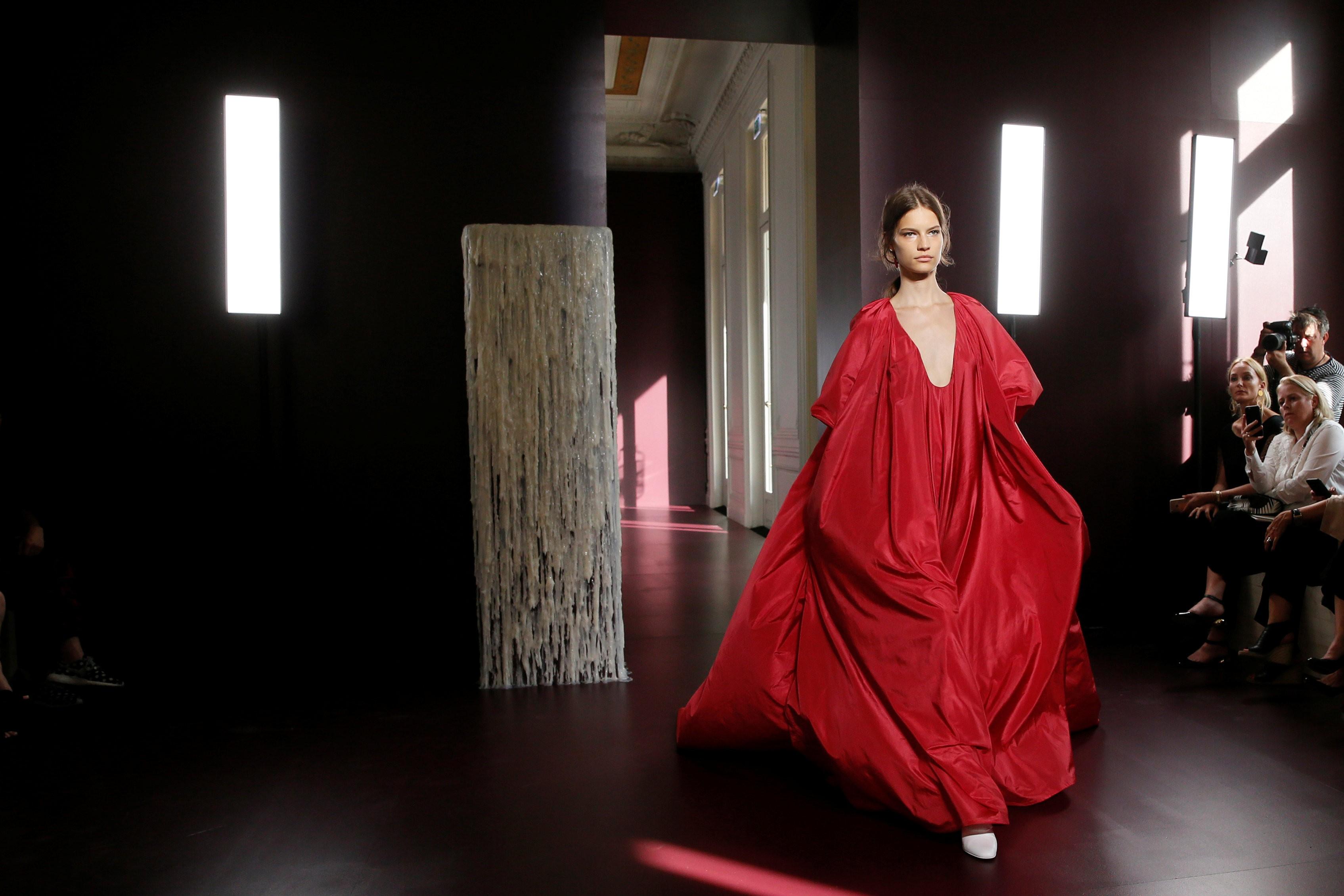 3e10f9229dd3e4 Valentino turns to the church in haute couture collection
