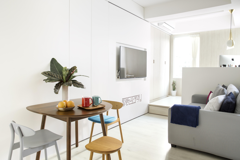Hong Kong interior designer creates timeless micro apartment for ...