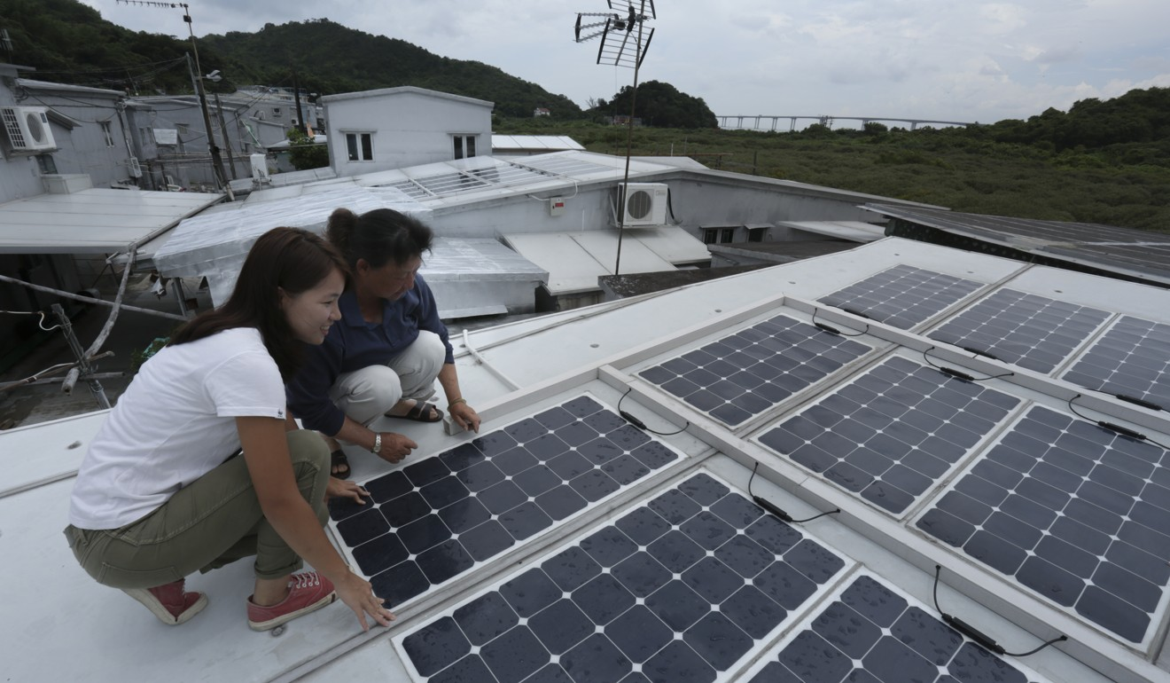 Hong Kong Villagers Using Solar Energy To Help Power Their