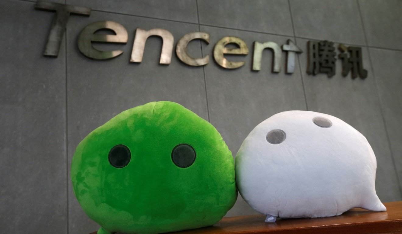 WeChat mascots at the Tencent office in Guanzhou, China | Reuters