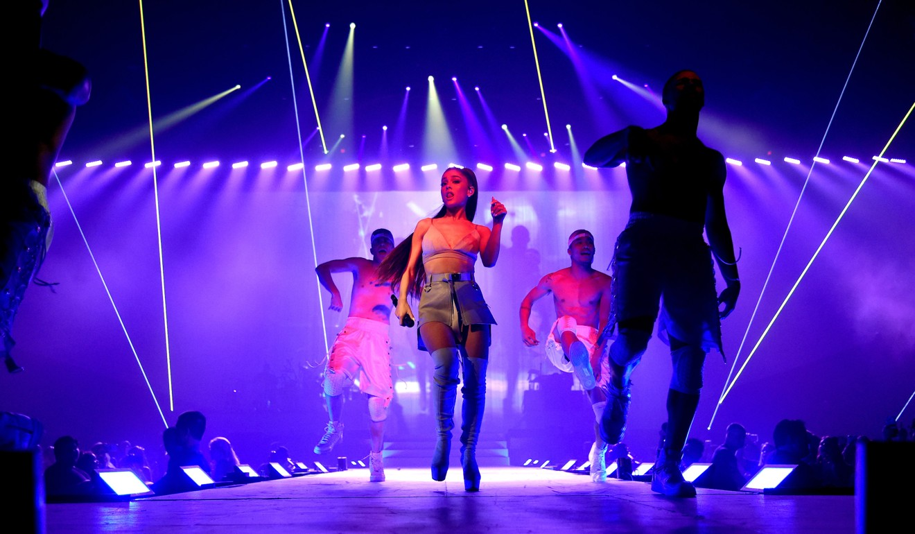 Video and Photos from Dangerous Woman Production