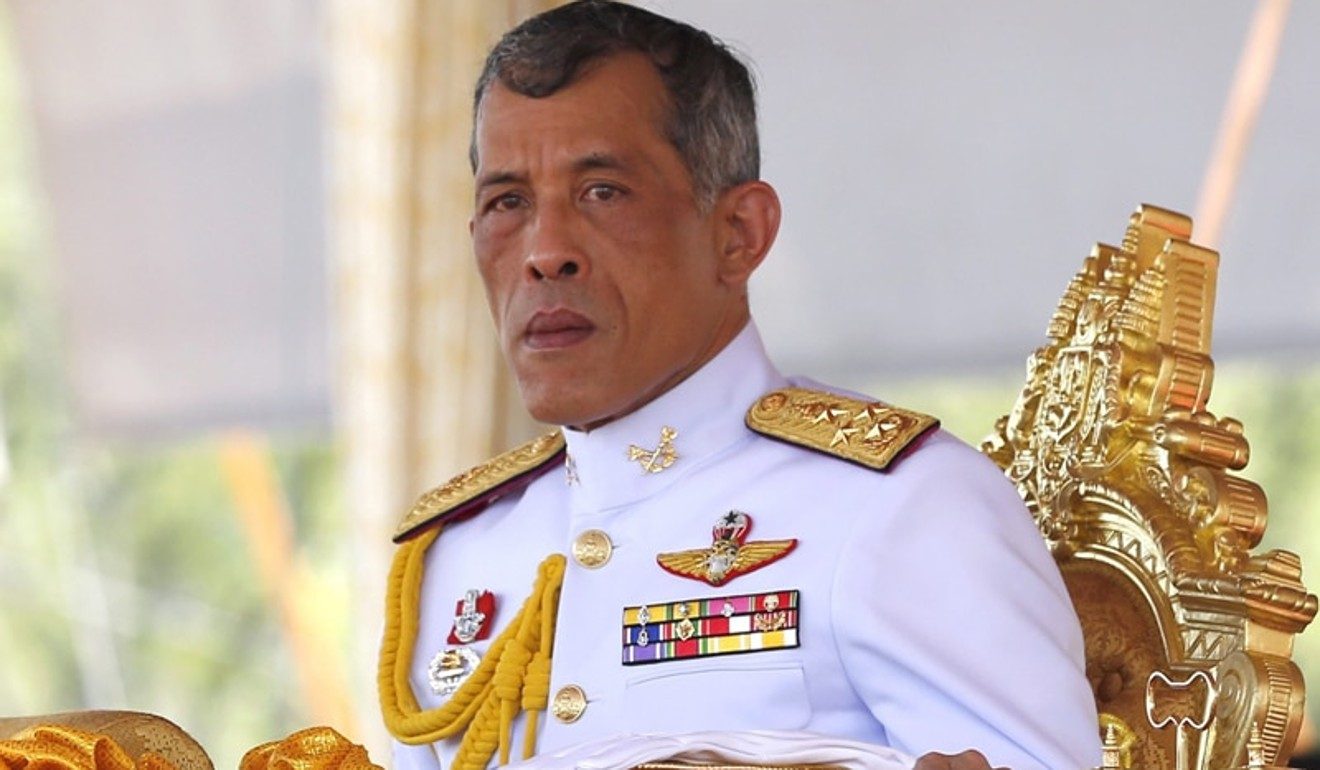 King Maha Vajiralongkorn Bodindradebayavarangkun (Rama X) rose to the Thai throne following his father's death in October last year. Photo: EPA
