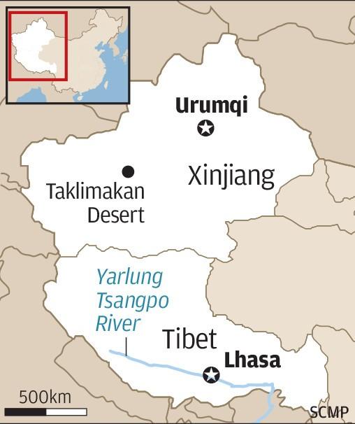 Chinese engineers plan 1000km tunnel to make Xinjiang desert bloom