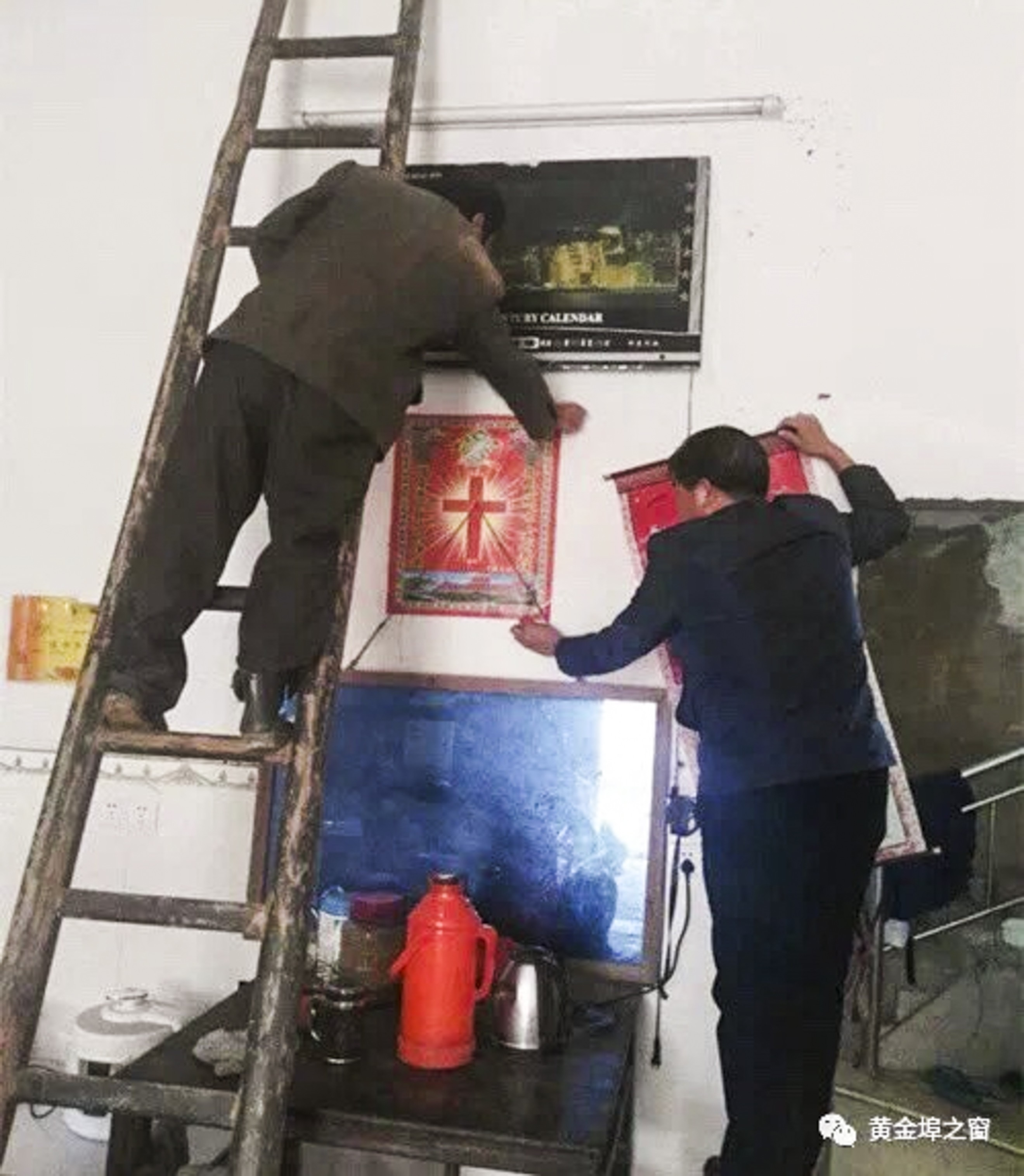 Warga Kristen Cina Diminta Ganti Foto Yesus dengan Gambar Jinping - 1