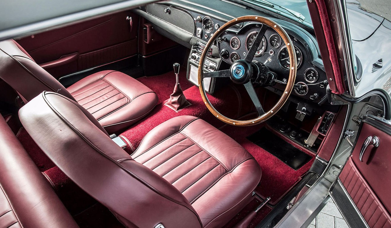 Paul Mccartney S Old 1964 Aston Martin Db5 Goes To Auction