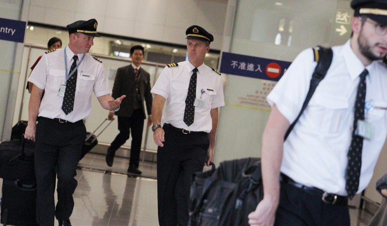 Cathay pacific pilots dial down talk of strike if pay dispute remains unresolved south china - Cathay pacific head office ...