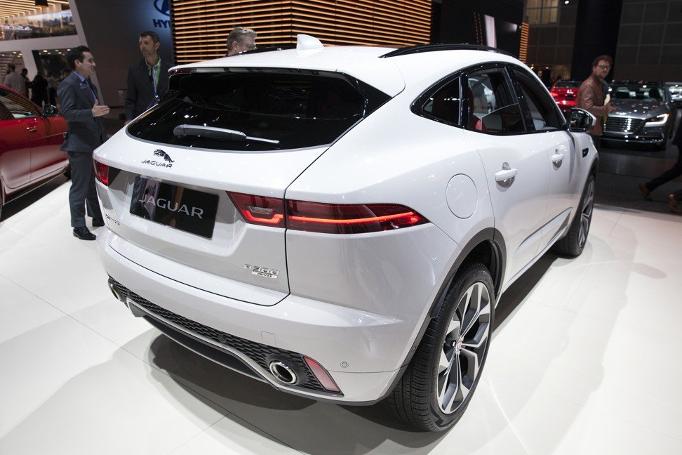 The Jaguar Land Rover Automotive Plc E Pace Sports Utility Vehicle Suv Photo Bloomberg