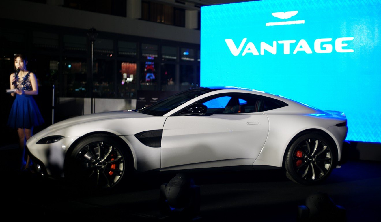 The Vantage Has Just Arrived In Hong Kong And Deliveries Are Expected To  Begin During The Third Quarter Of 2018.