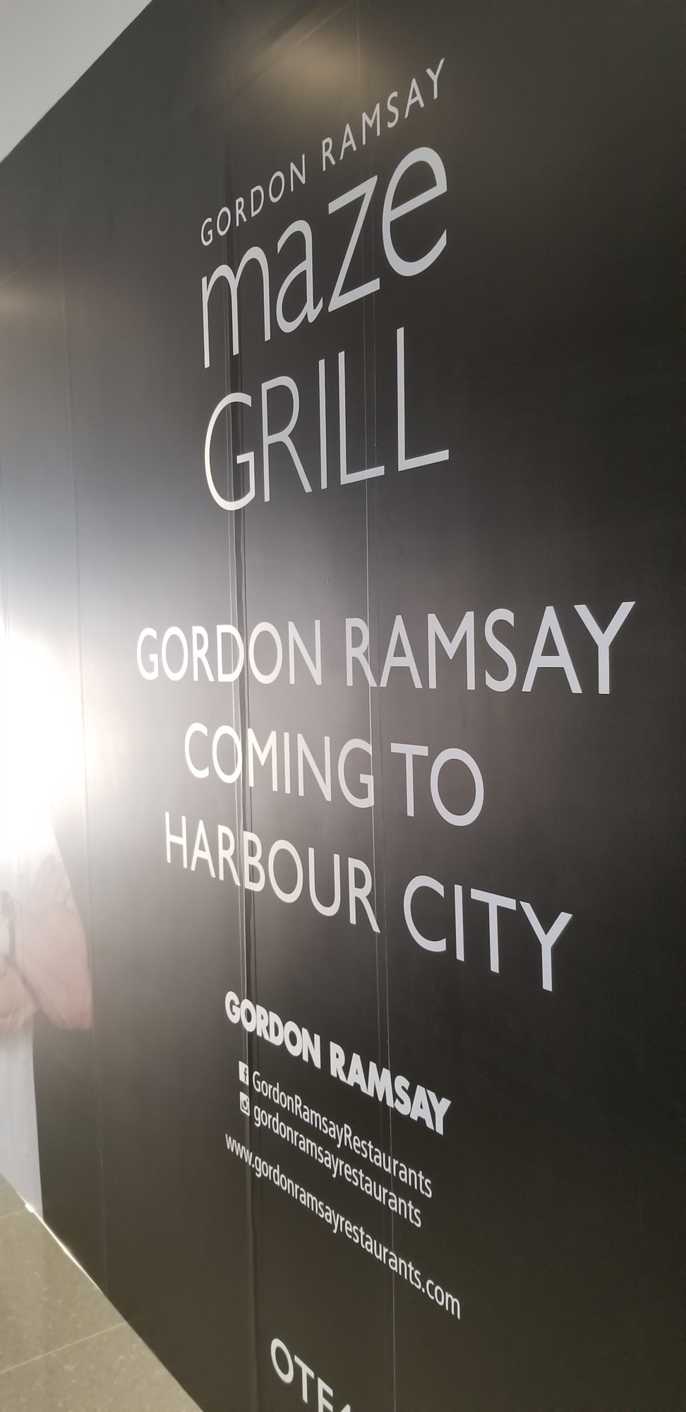 Gordon Ramsays Maze Grill Restaurant Is Expected To Open On