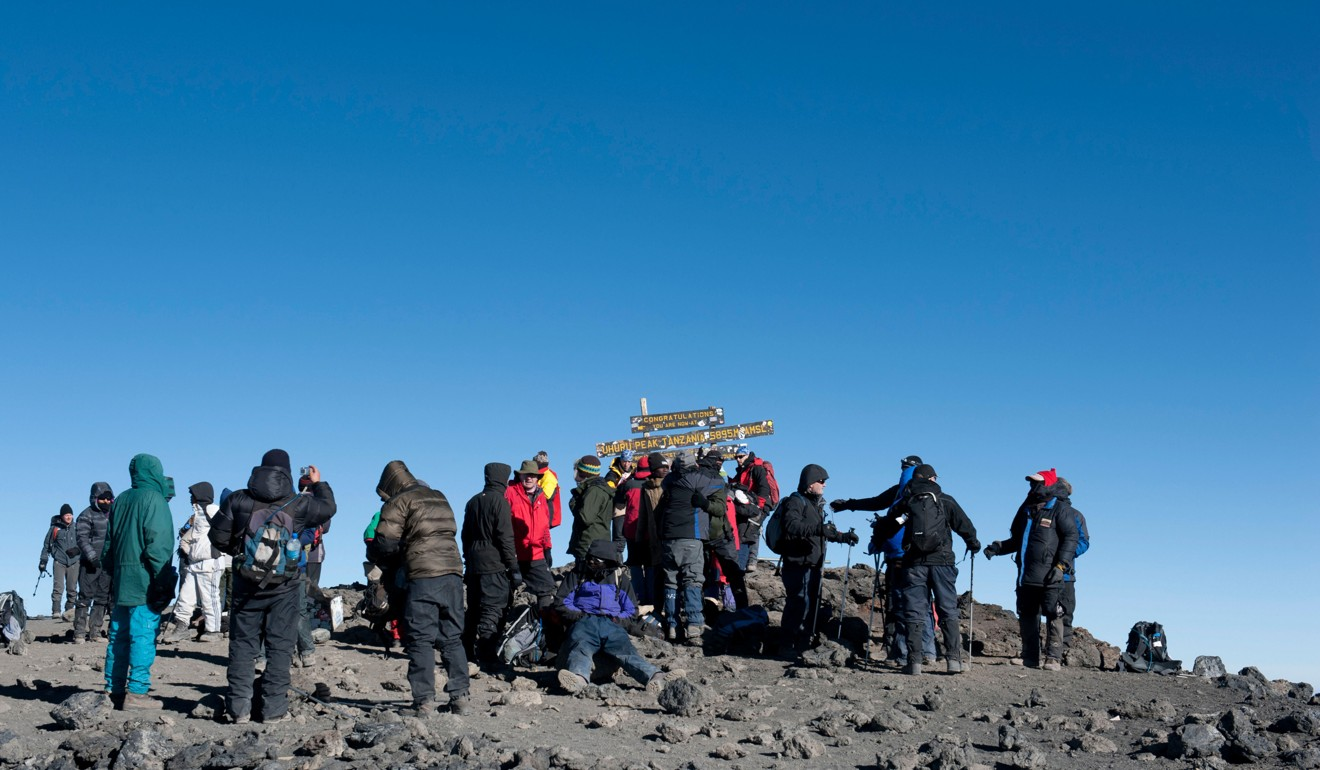 Mountaineers At The Summit Of Kilimanjaro September Might Be Best Month To Climb