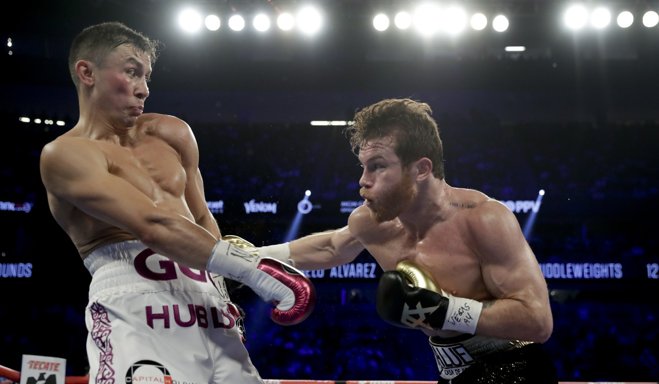 4e7924e0 Canelo vs GGG II: Alvarez claims middleweight world title after epic  decision win over Golovkin   South China Morning Post