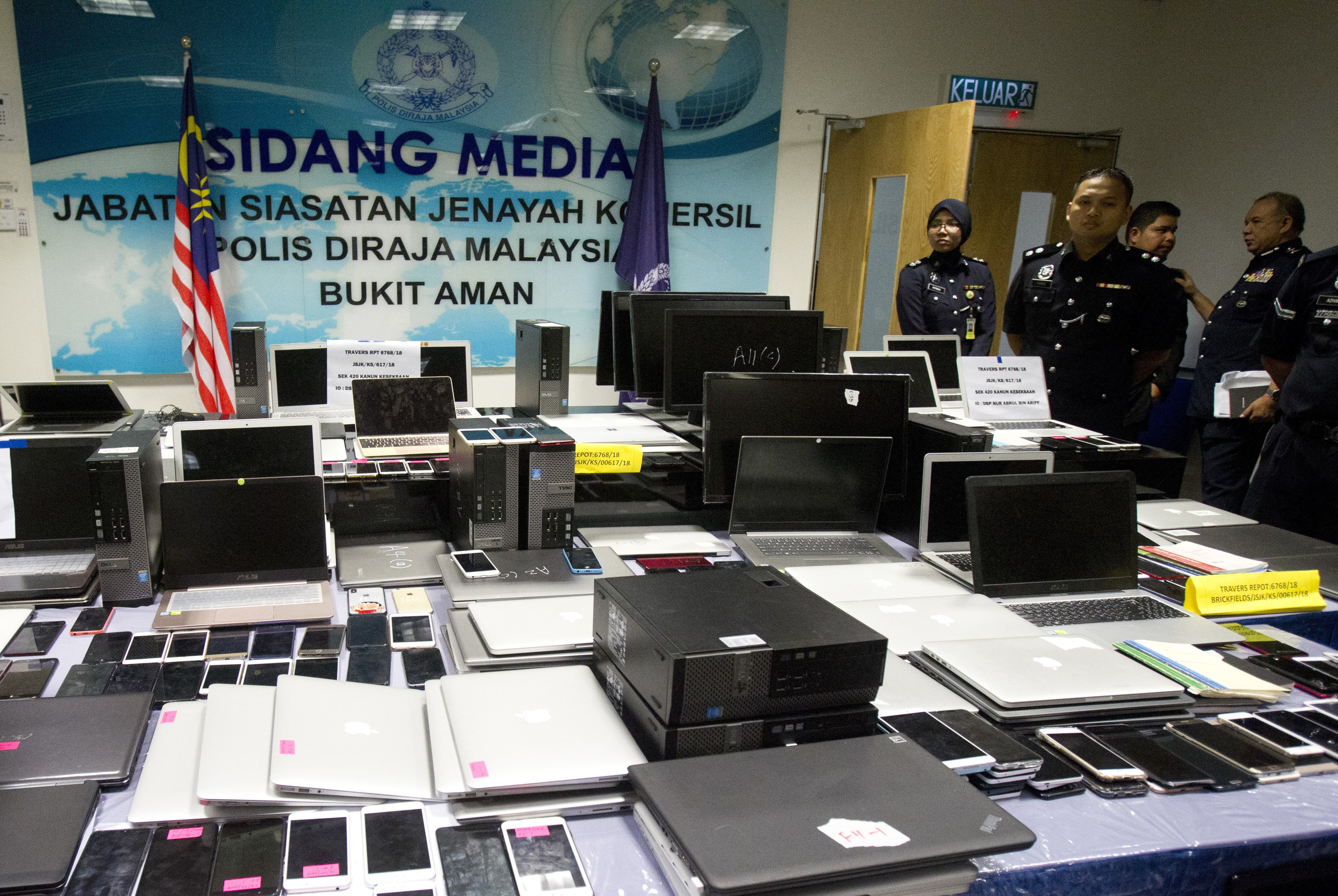 Over 90 Chinese nationals arrested in Malaysia for scamming people