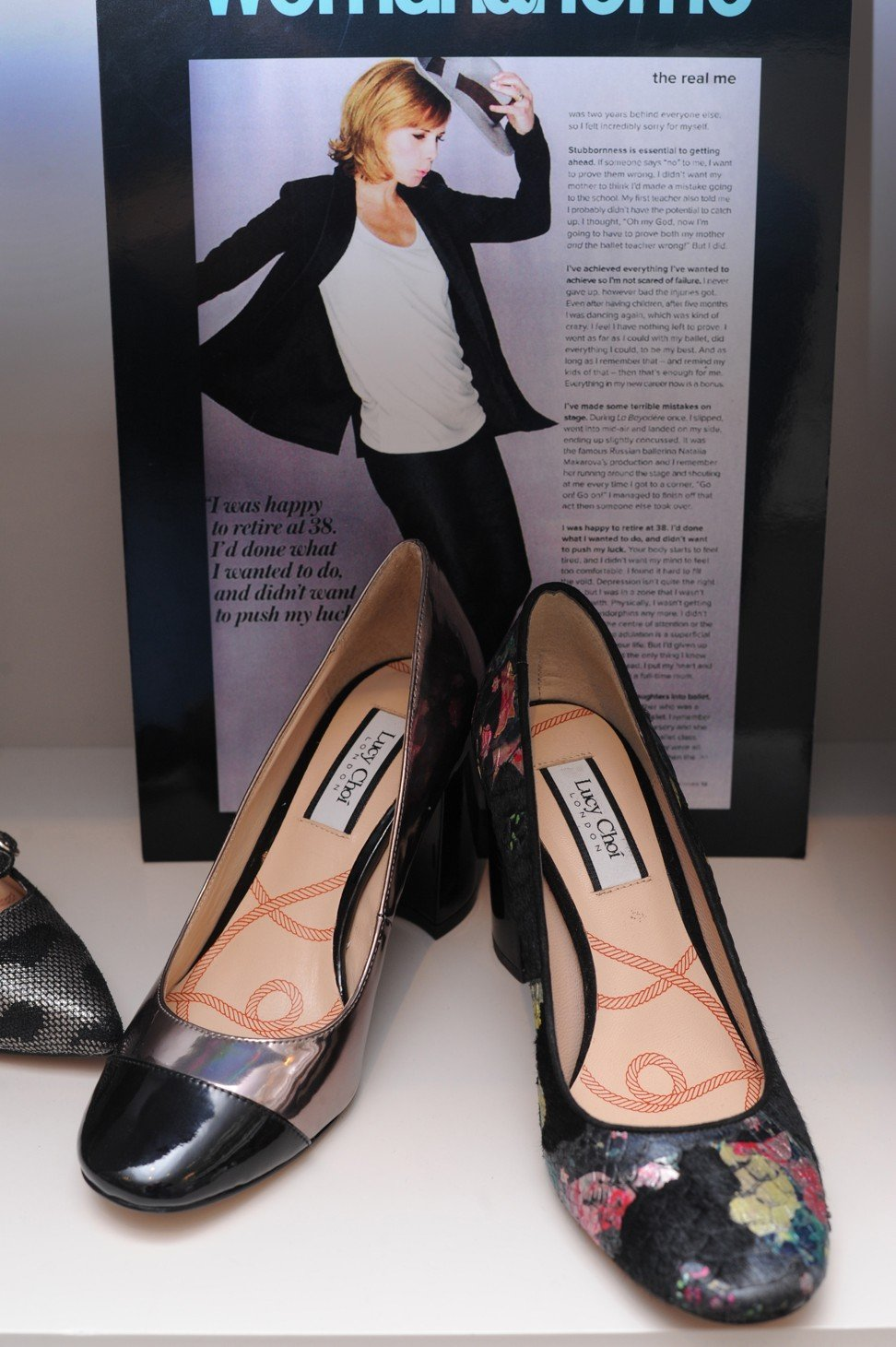06ab6d535 Shoe designer Lucy Choi follows in uncle Jimmy Choo s famous footsteps