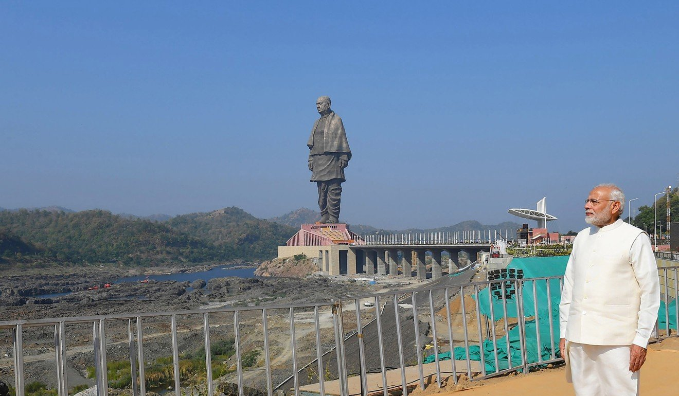 India prepares to inaugurate the world's tallest statue