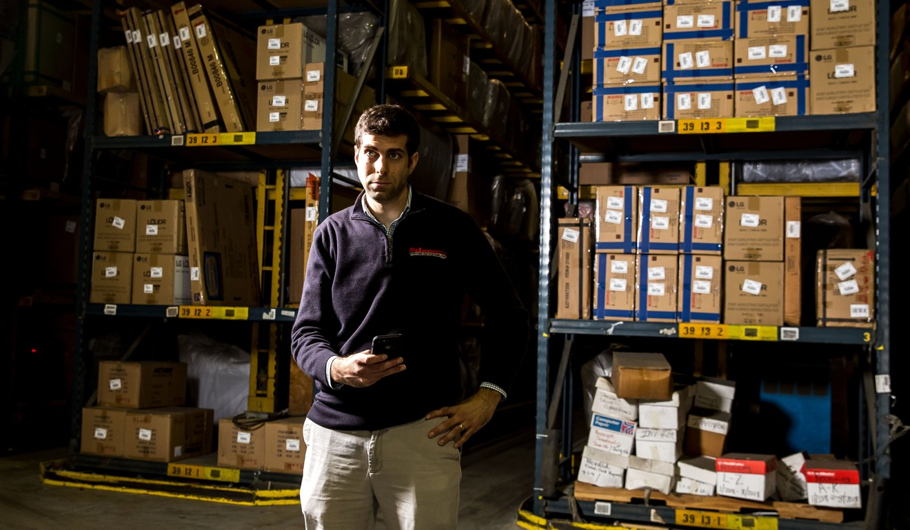 Matt Schewel, of Schewel Furniture, a fifth-generation family furniture business that has operated for 120 years in the US and now has 50 retail stores. Photo: M Scott Mahaskey/Politico