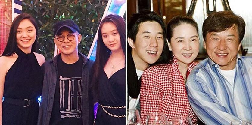 Jet Li looks in much better health alongside Jack Ma at