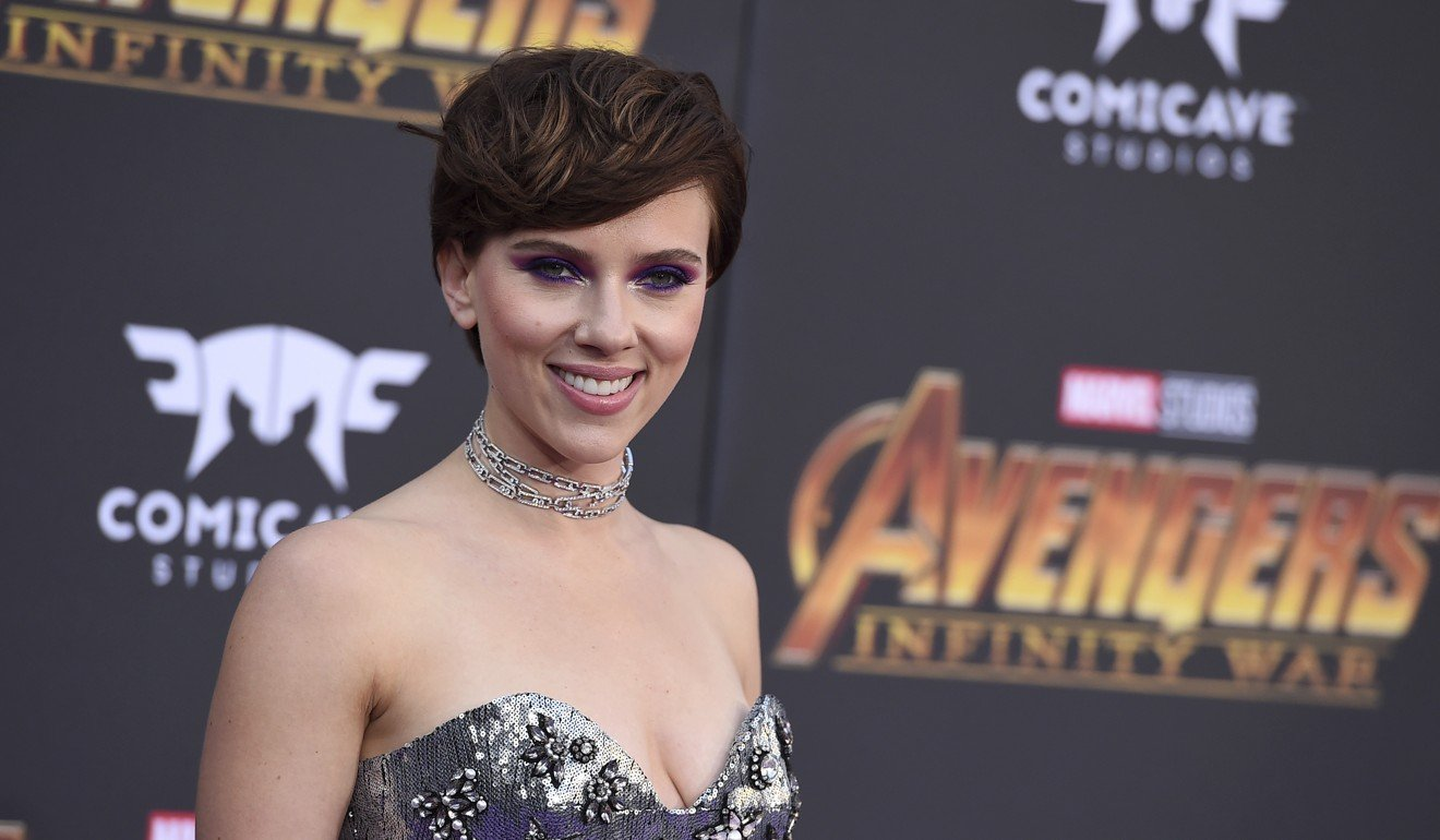 Scarlett Johansson: 'Nothing can stop someone from cutting and pasting my image or anyone else's onto a different body and making it look as eerily realistic as desired'. File photo: AP