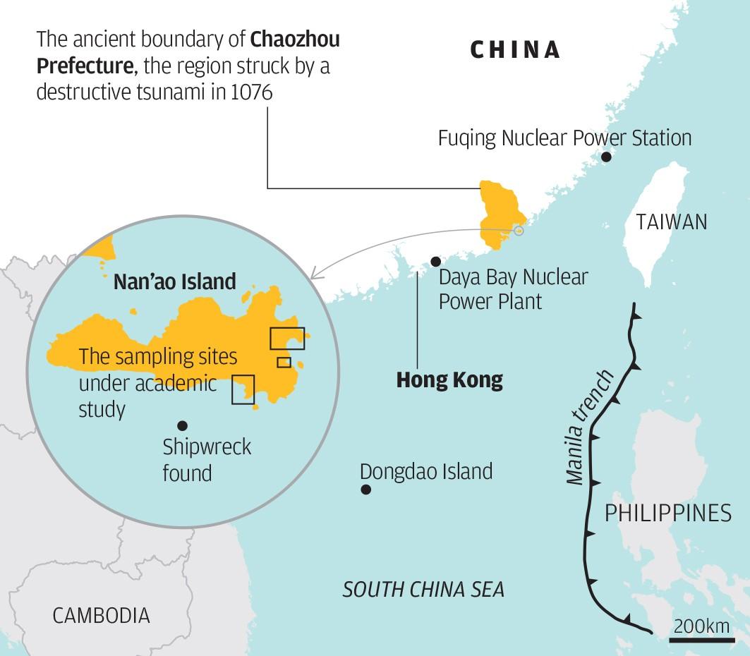 Scientists Say A Tsunami Hit China 1,000 Years Ago