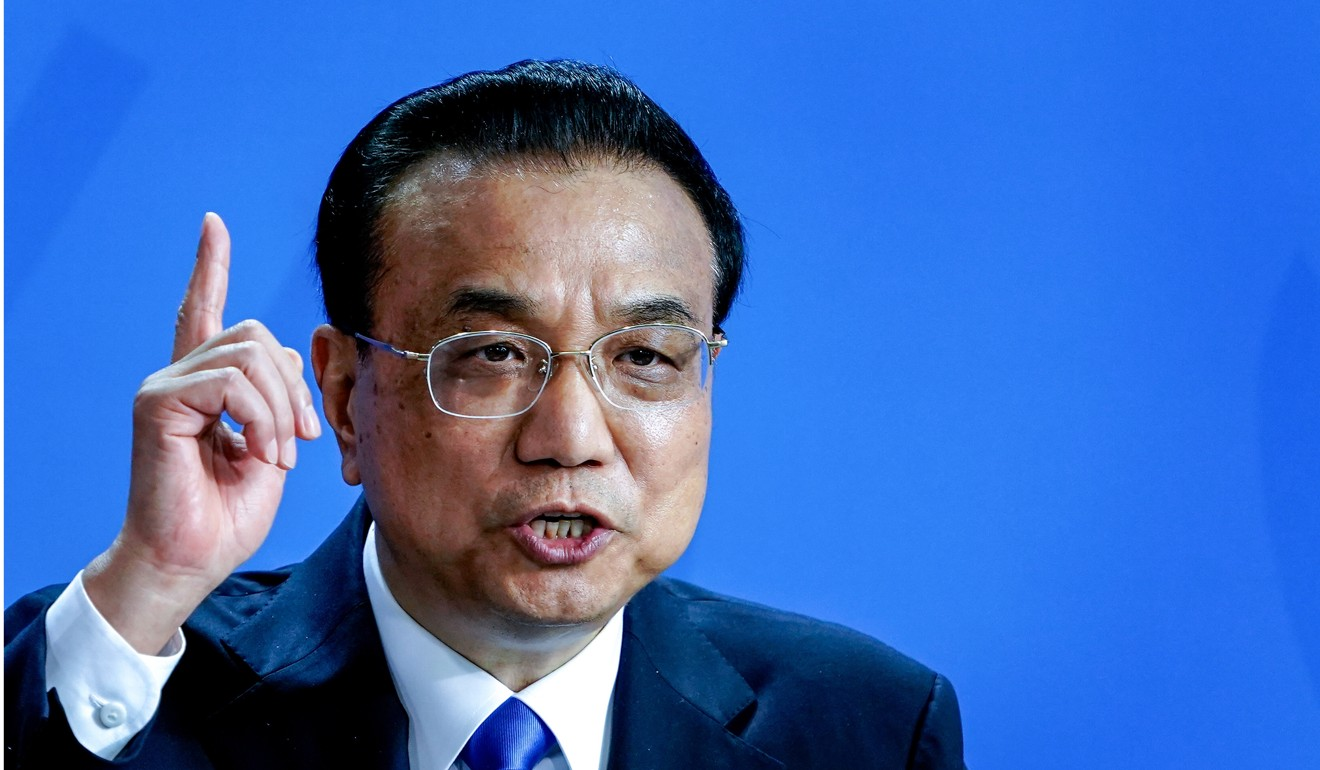 Chinese Premier Li Keqiang. Photo: EPA