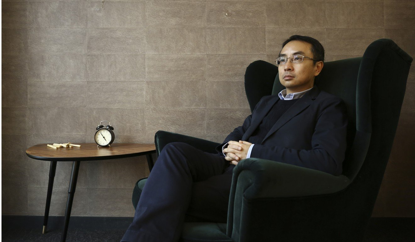 Psychologist Derek Lam. Photo: Jonathan Wong