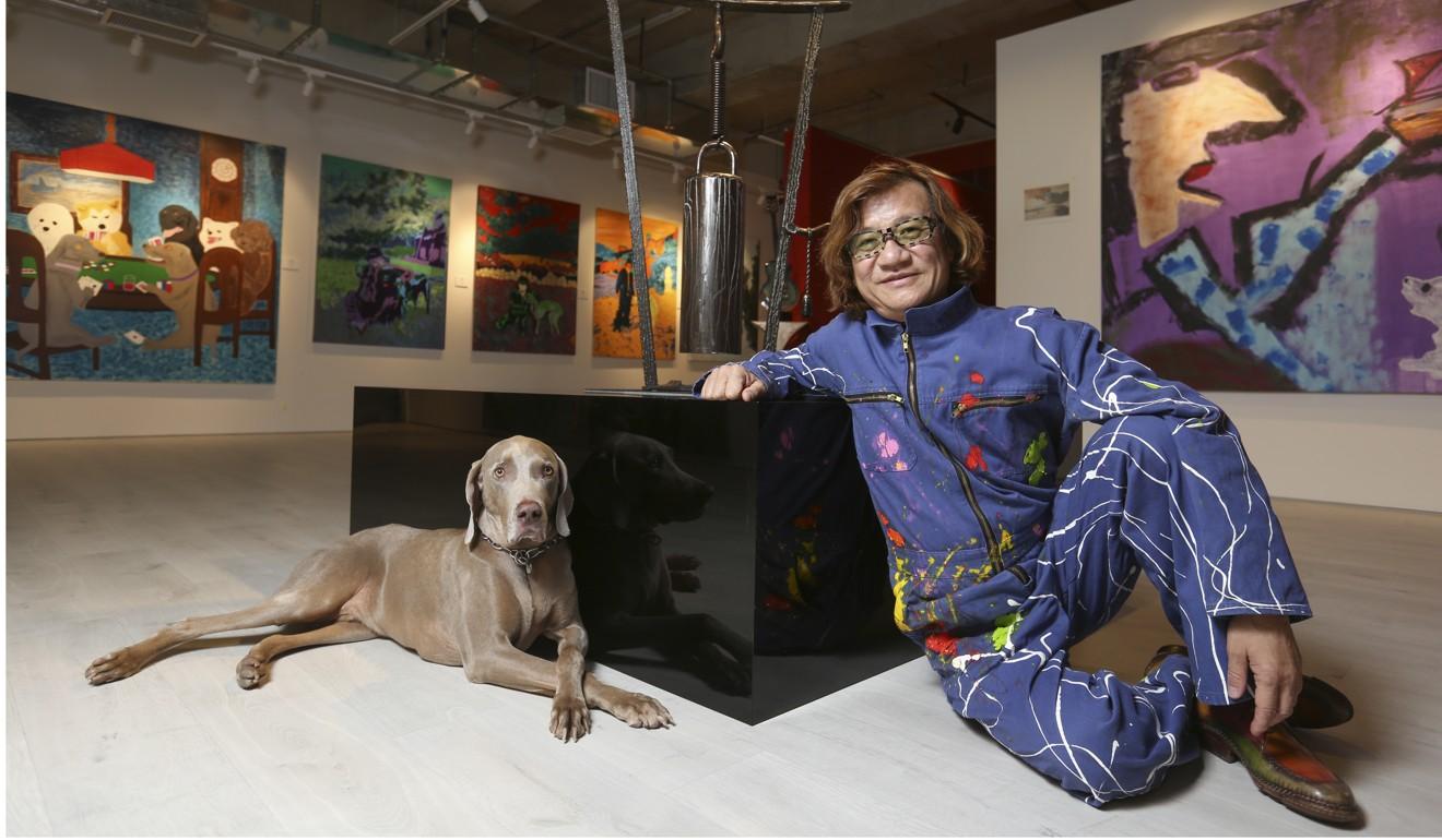 World Dog Alliance founder Genlin Peng Hong-ling. Photo: Xiaomei Chen