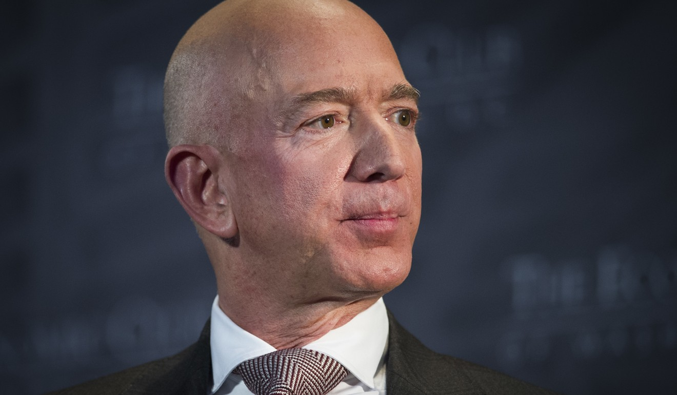 Jeff Bezos, Amazon founder and CEO, tops the Hurun Global Rich List 2019 with wealth estimated at US$147 billion. Photo: AP