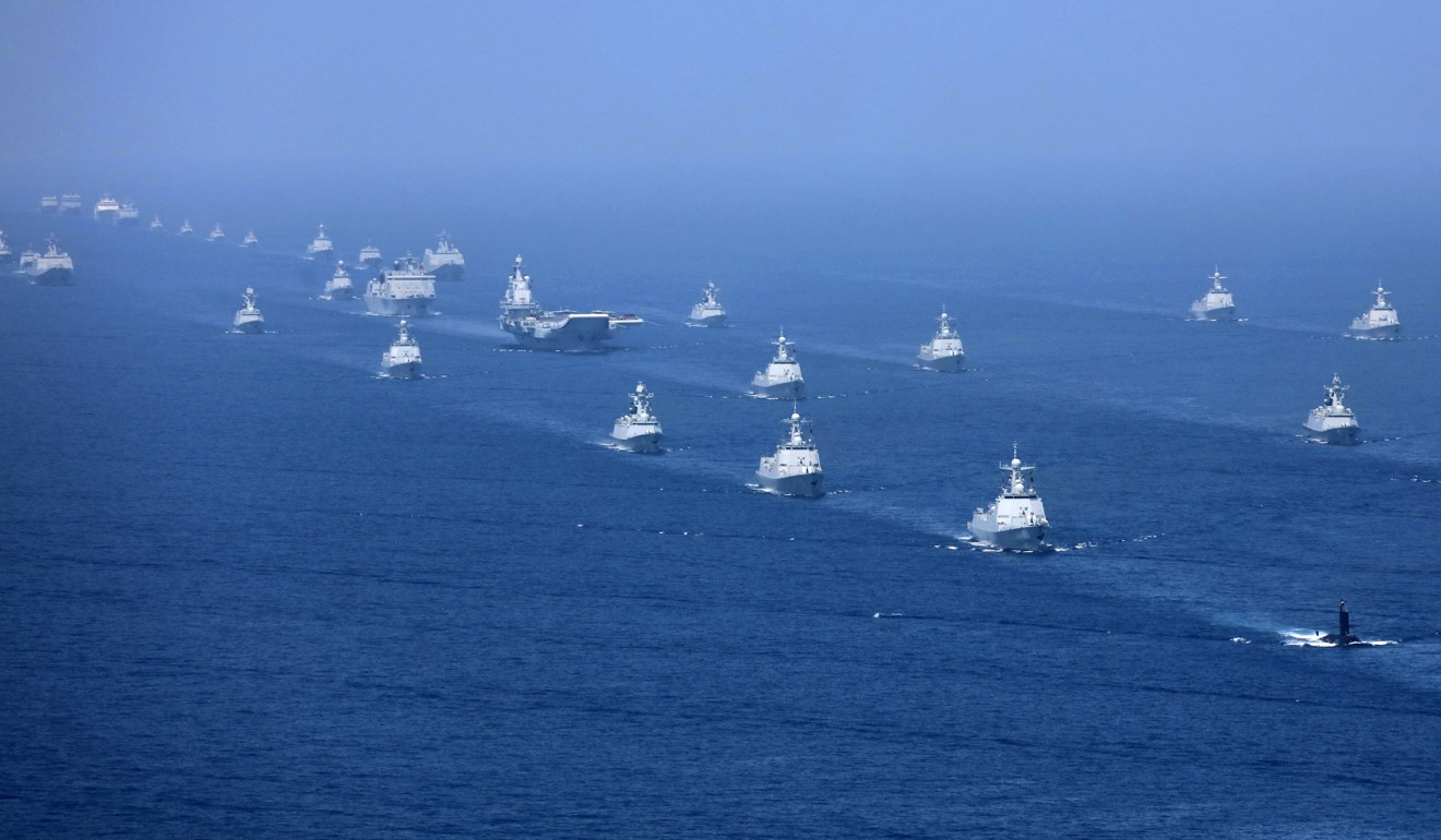 China has greatly expanded its naval capabilities in recent years. Photo: AP