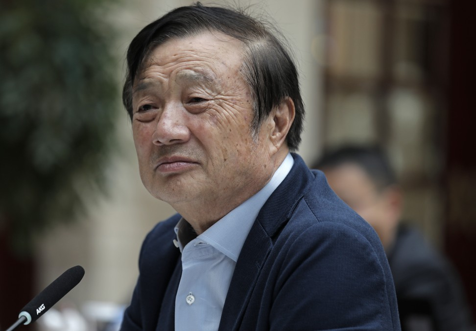 Ren Zhengfei, founder and CEO of Huawei, was questioned by US investigators in New York in July 2007. The probe was only revealed this January, in a US indictment of the firm. Photo: AP