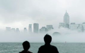 Fog and cloud are likely to persist all week. Photo: AFP