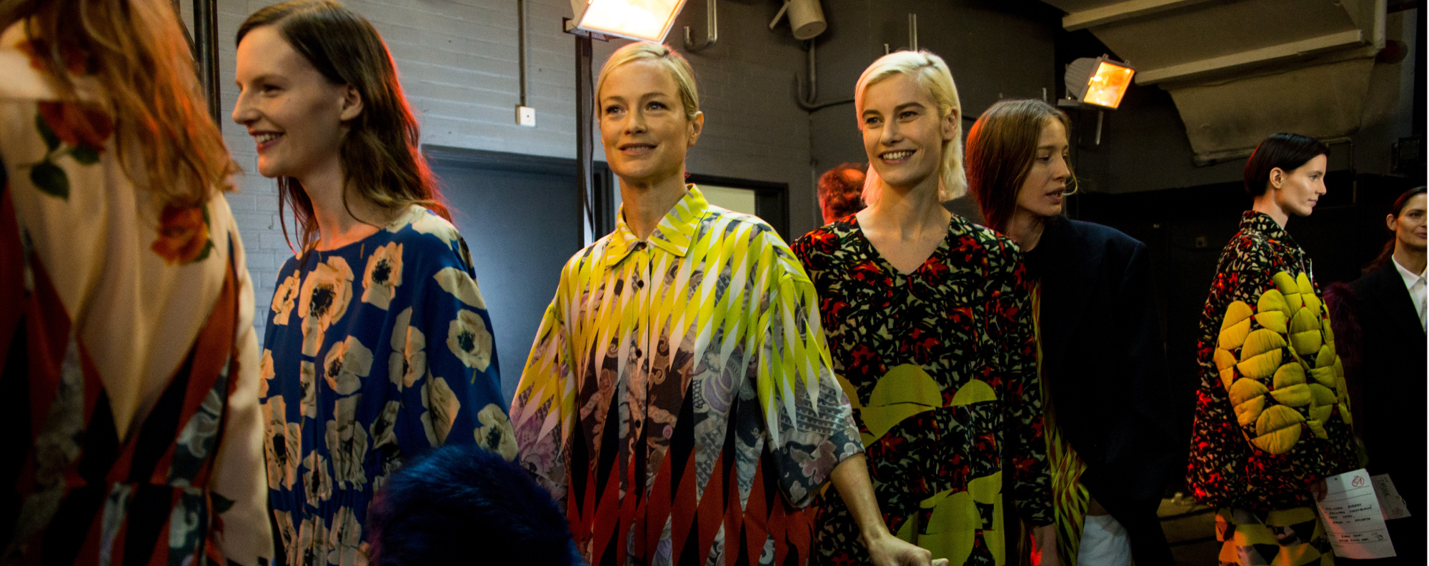 Dries Van Noten's Autumn/Winter 2017 show during Paris Fashion Week. The designer's womenswear features some menswear-inspired elements.