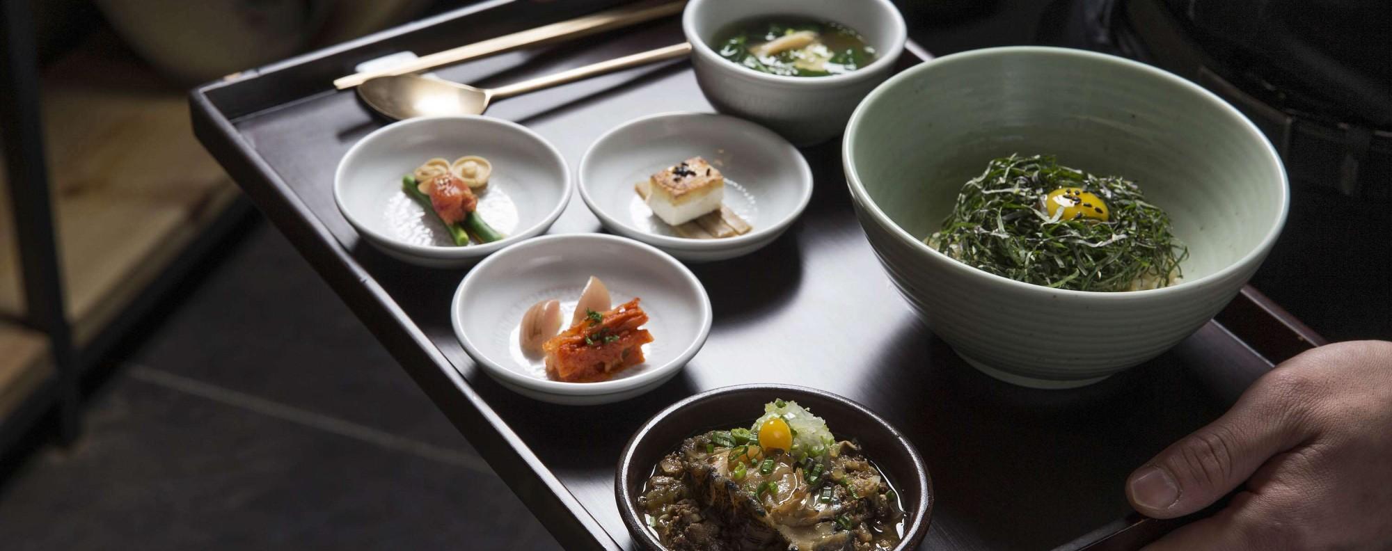 Chef Kang Min-goo of Seoul's Mingles says fermentation is essential to Korean food.