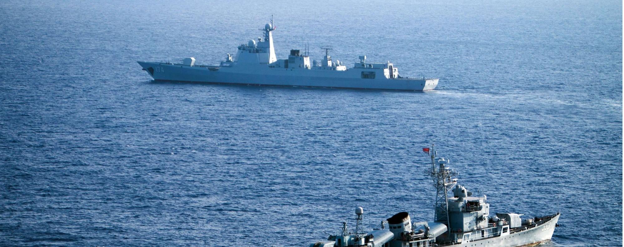China's South Sea Fleet. Photo: AFP