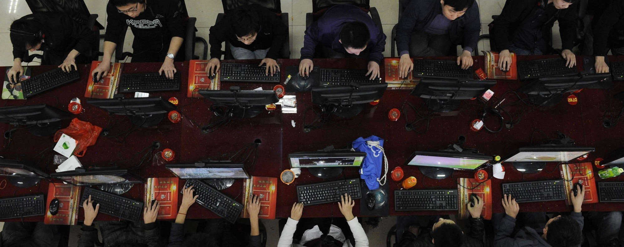 An internet cafe in Taiyuan, Shanxi province. Photo: Reuters