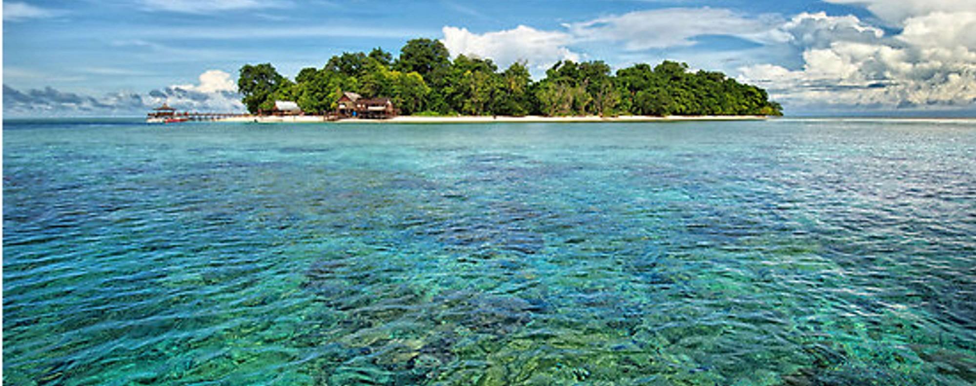 Sipadan Island off the east coast of Sabah. Photo: Karim Raslan