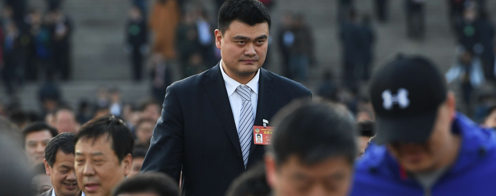 Chinese former NBA star Yao Ming. Photo: AFP
