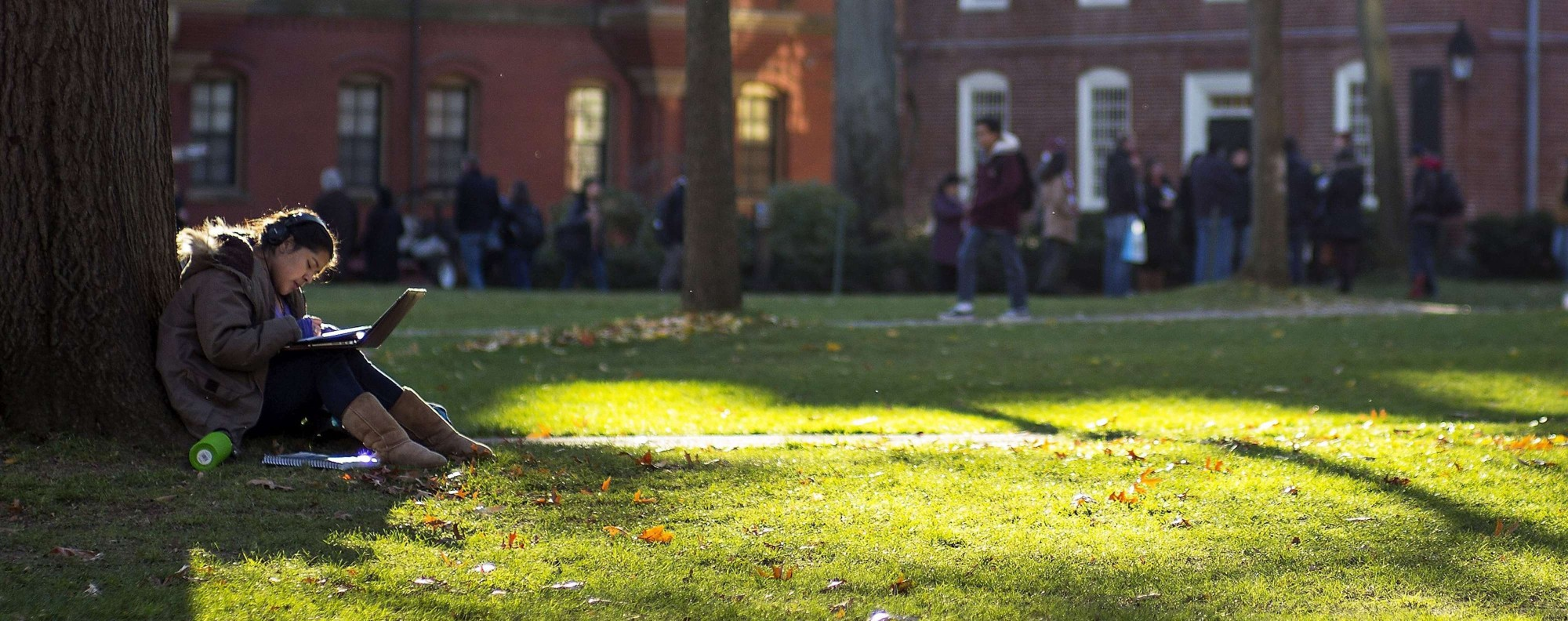 Harvard University Campus Photo EPA
