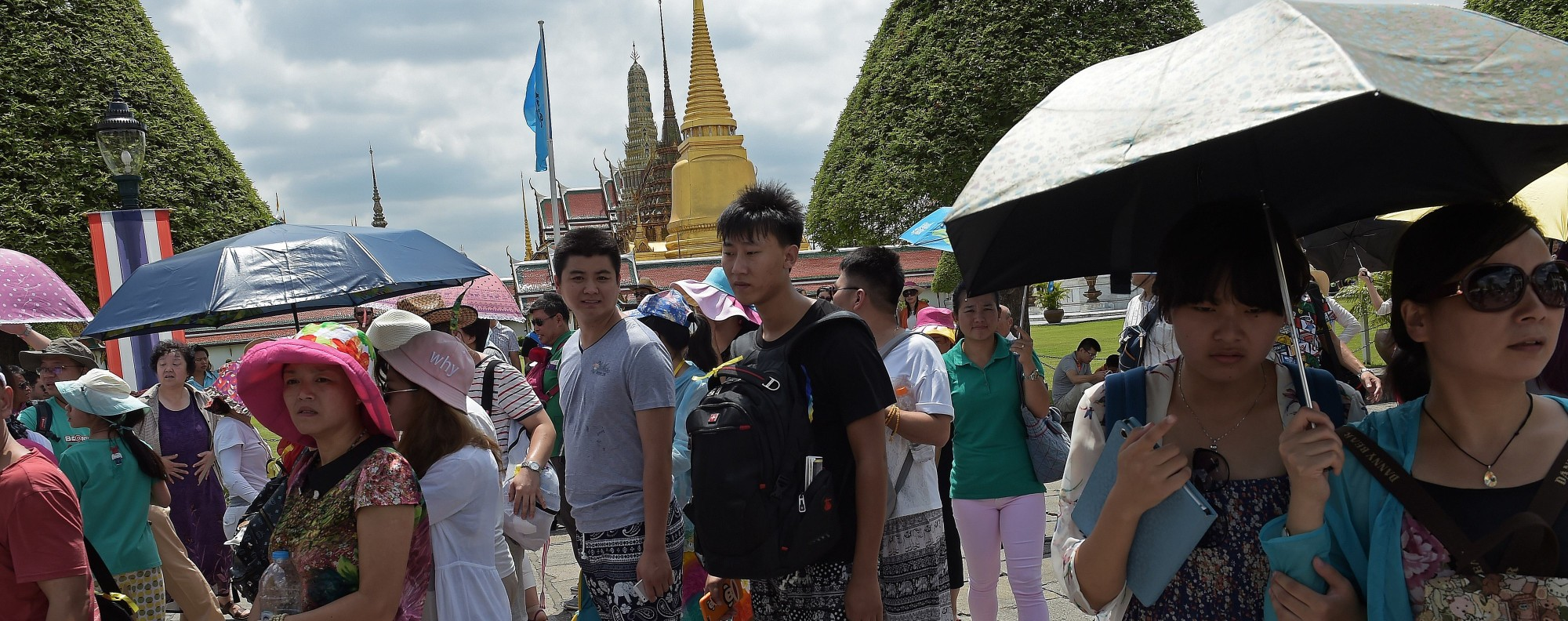 Tourism is expected to boost the Thai economy. Photo: AFP