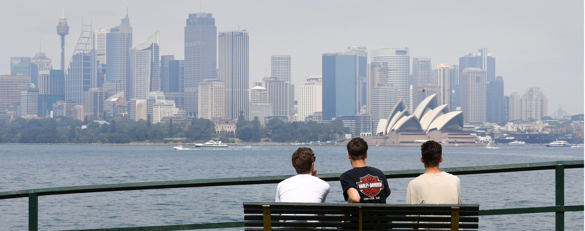 The Sydney skyline. Photo: AFP