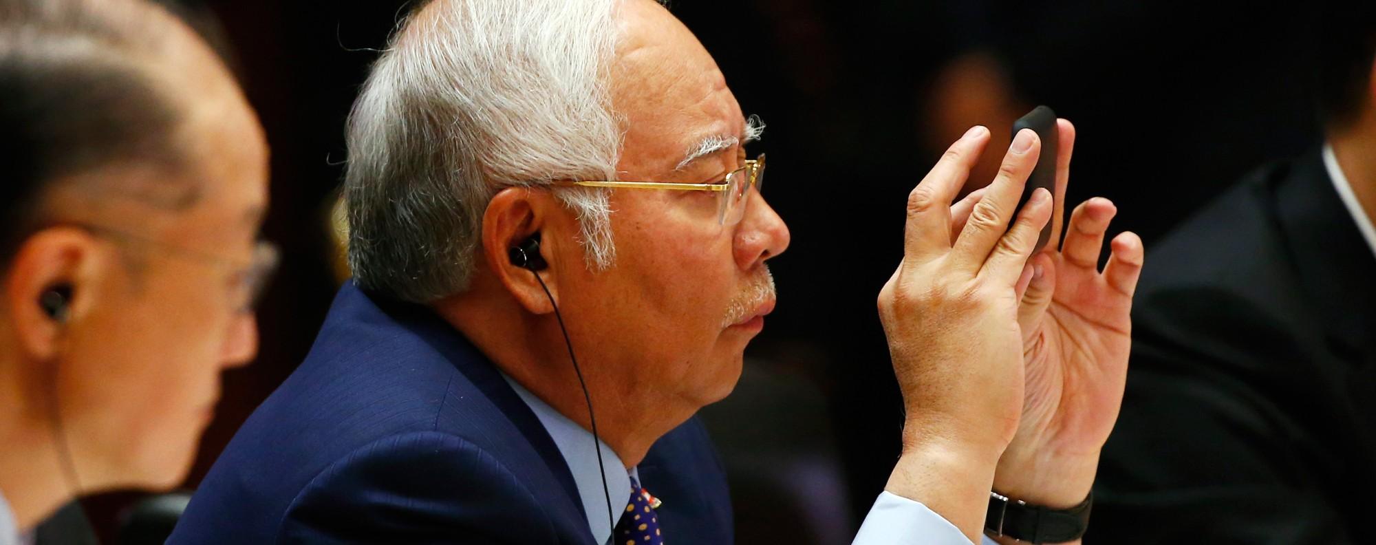 Malaysia's Prime Minister Najib Razak. Photo: AFP