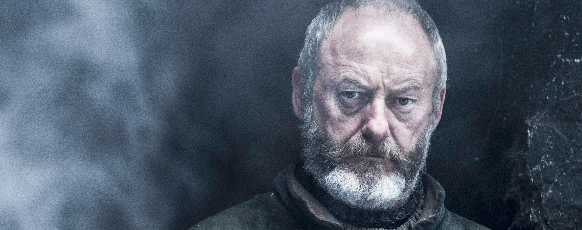Liam Cunningham as Davos Seaworth in Game of Thrones.