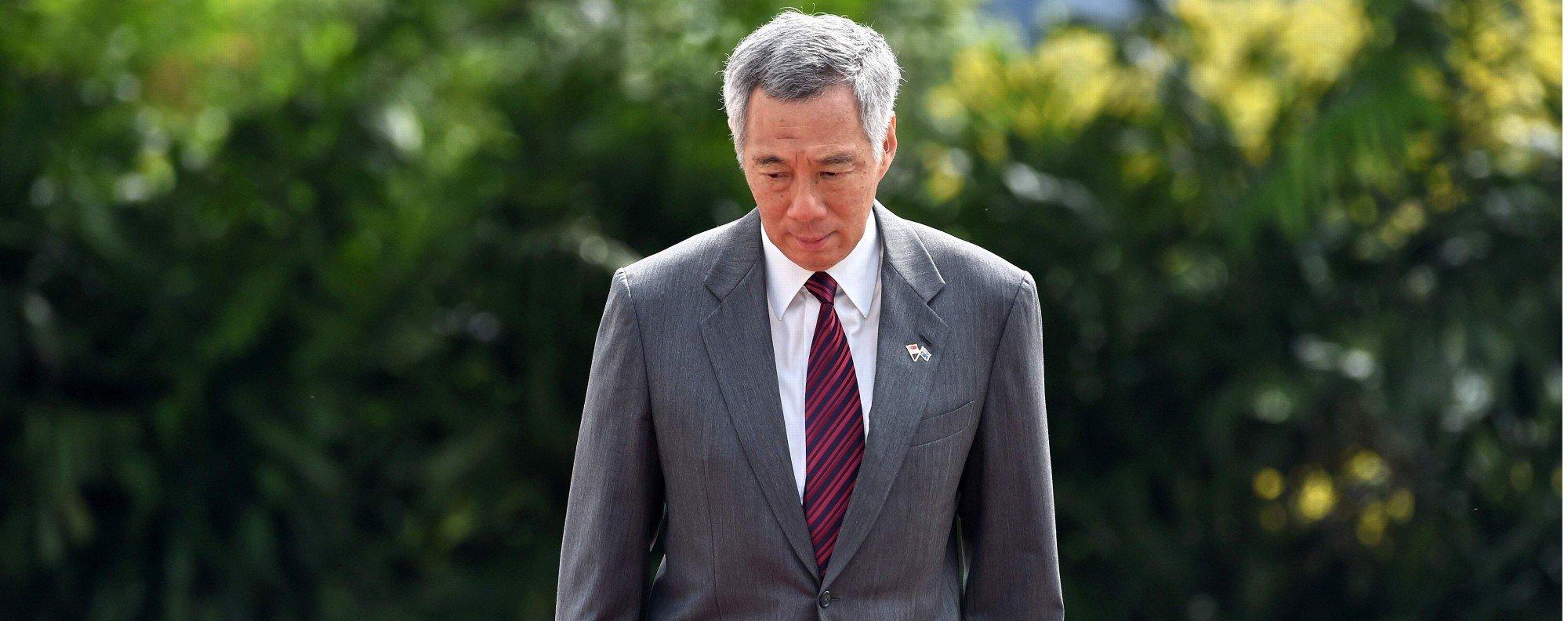 Premier Lee Hsien Loong. Photo: AFP