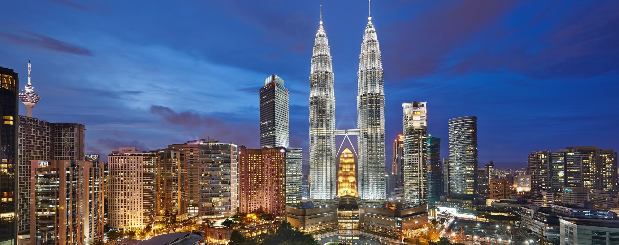 The Kuala Lumpur skyline. File photo