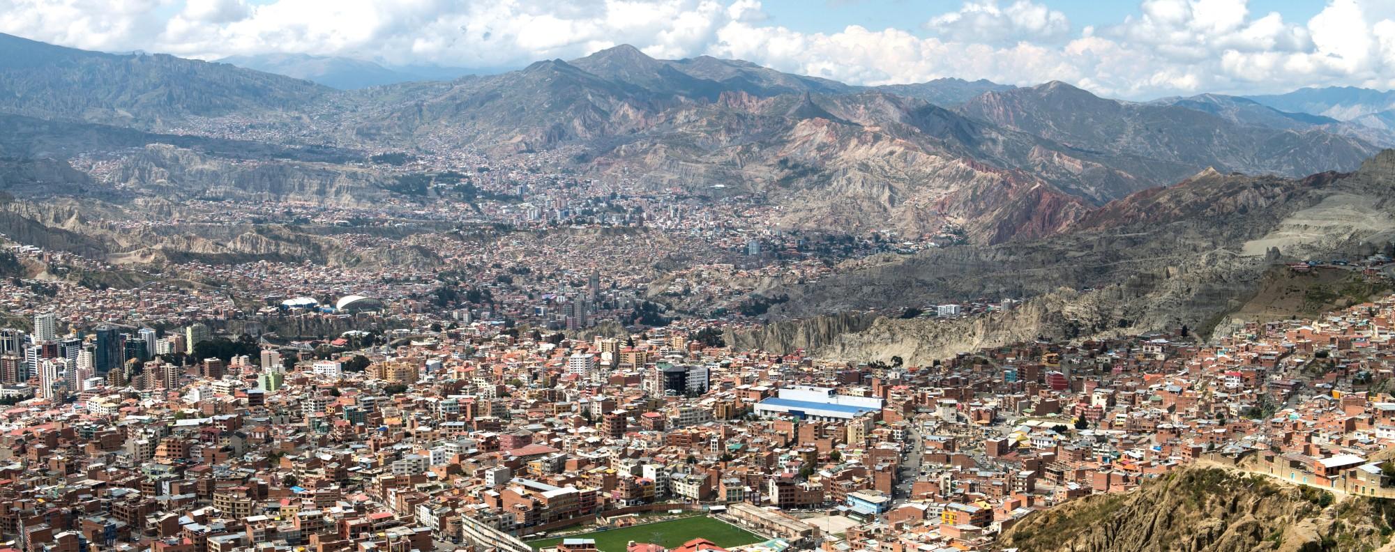 La Paz, Bolivia, – the world's highest capital city. Picture: Alamy